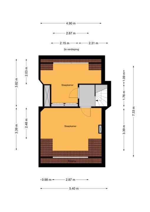 Paradijsstraat 107, Voorburg floorplan-2