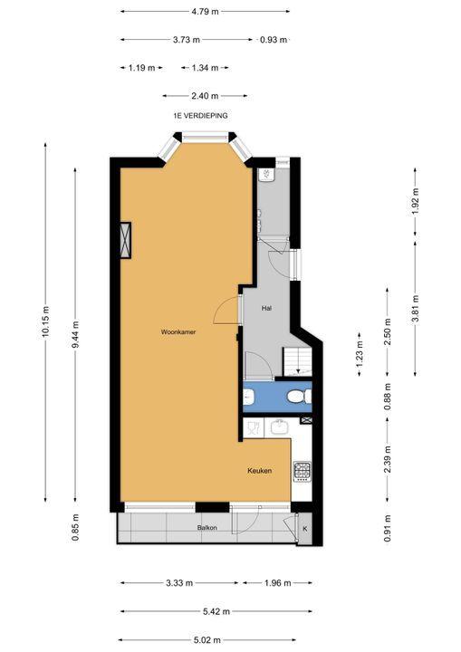 van Faukenbergestraat 144, Voorburg floorplan-0