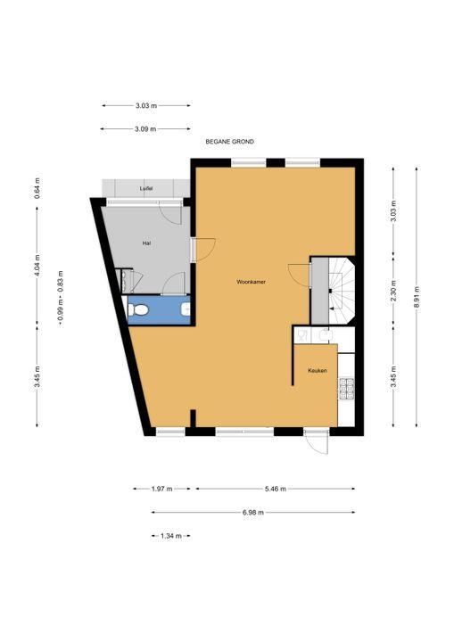 Libelsingel 51, Den Haag floorplan-0