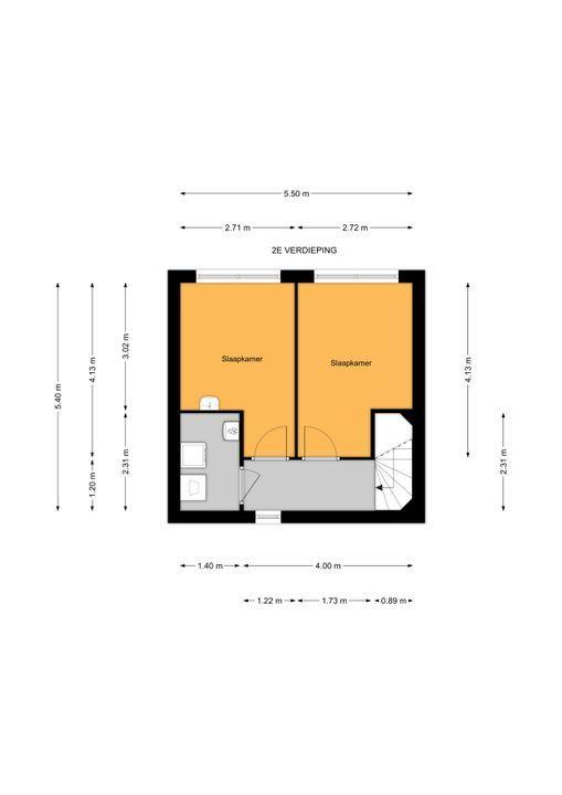 Libelsingel 51, Den Haag floorplan-2