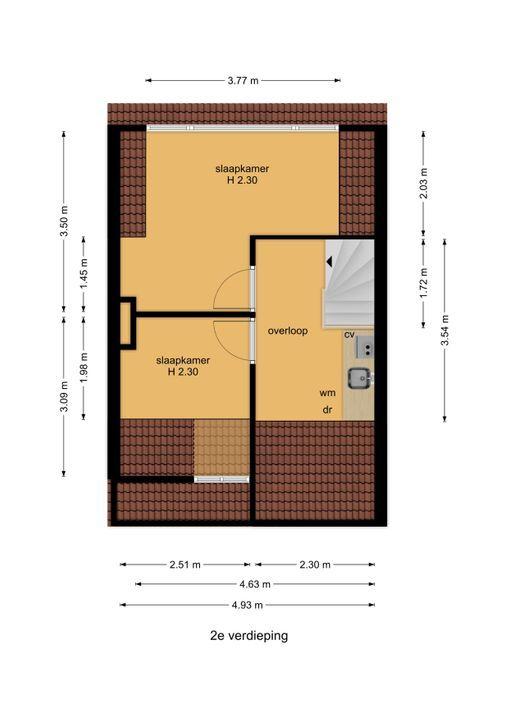 Agrippinastraat 47, Voorburg floorplan-2