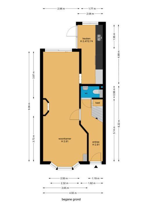 Agrippinastraat 47, Voorburg floorplan-0