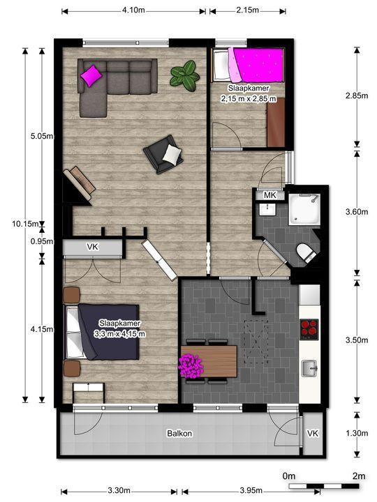 Prins Bernhardlaan 95, Voorburg floorplan-0