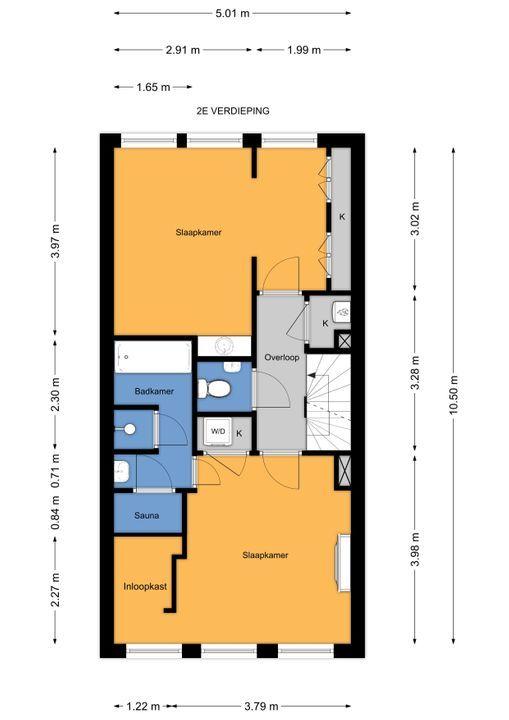 Staringkade 51, Voorburg floorplan-2