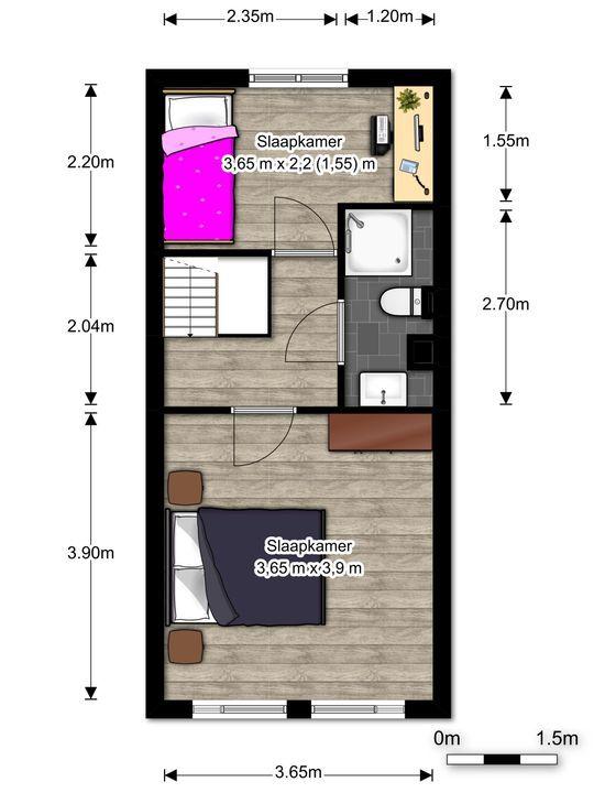 Prins Hendrikstraat 90, Voorburg floorplan-1