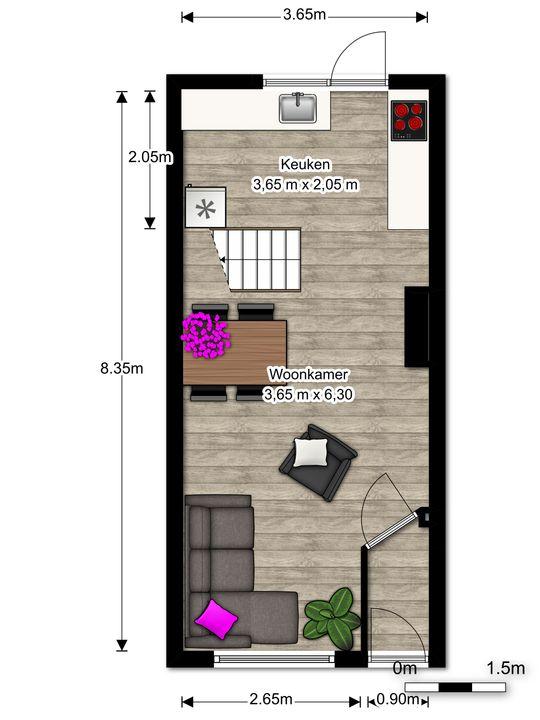 Prins Hendrikstraat 90, Voorburg floorplan-0
