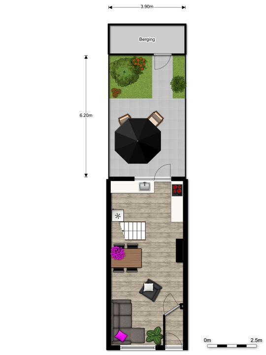 Prins Hendrikstraat 90, Voorburg floorplan-2