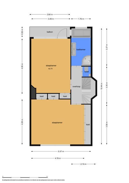 Haasburgstraat 4, Voorburg floorplan-1