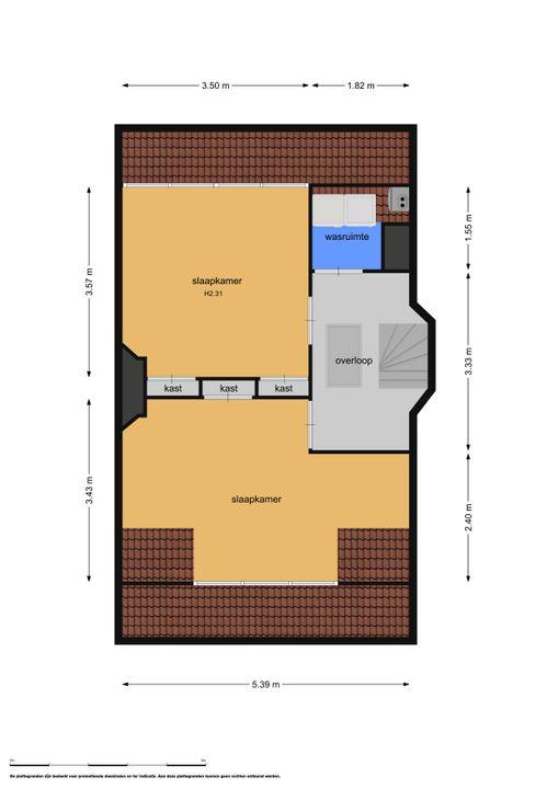 Haasburgstraat 4, Voorburg floorplan-2