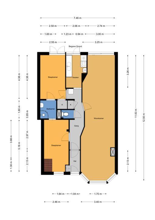 van Halewijnlaan 183, Voorburg floorplan-0