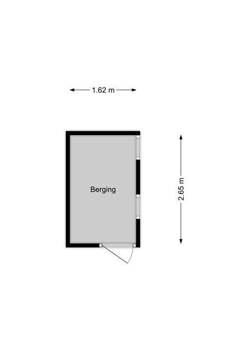 van Halewijnlaan 183, Voorburg floorplan-1