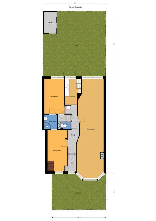 van Halewijnlaan 183, Voorburg floorplan-2