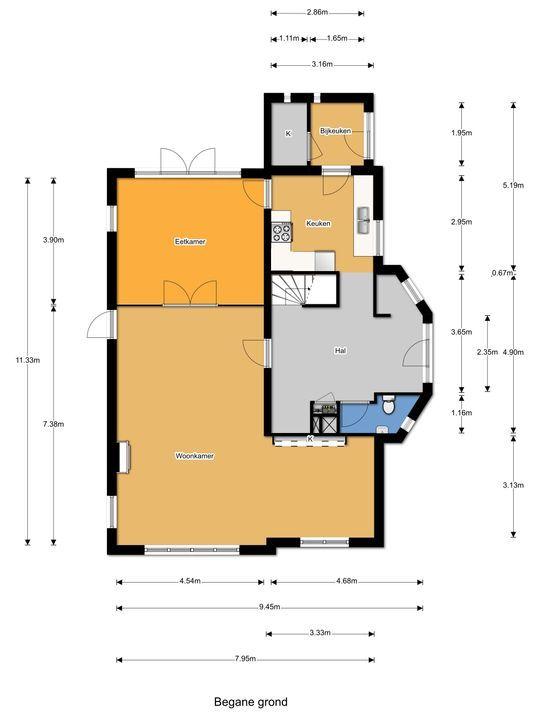 Park Vronesteyn 23, Voorburg floorplan-0