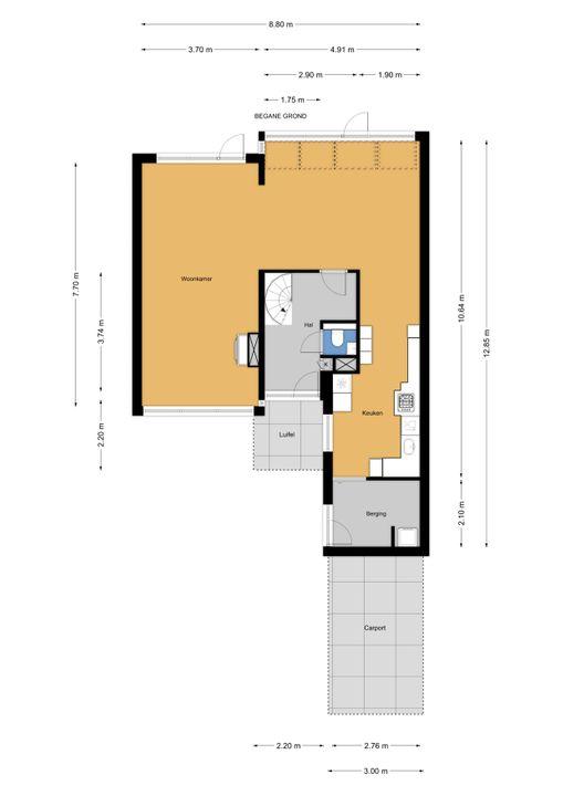 Prins Bernhardlaan 317, Voorburg floorplan-0