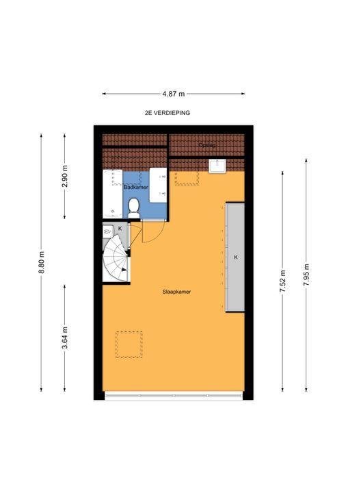Prins Bernhardlaan 317, Voorburg floorplan-2