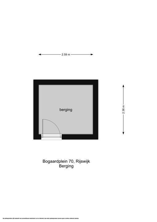Bogaardplein 70, Rijswijk floorplan-1