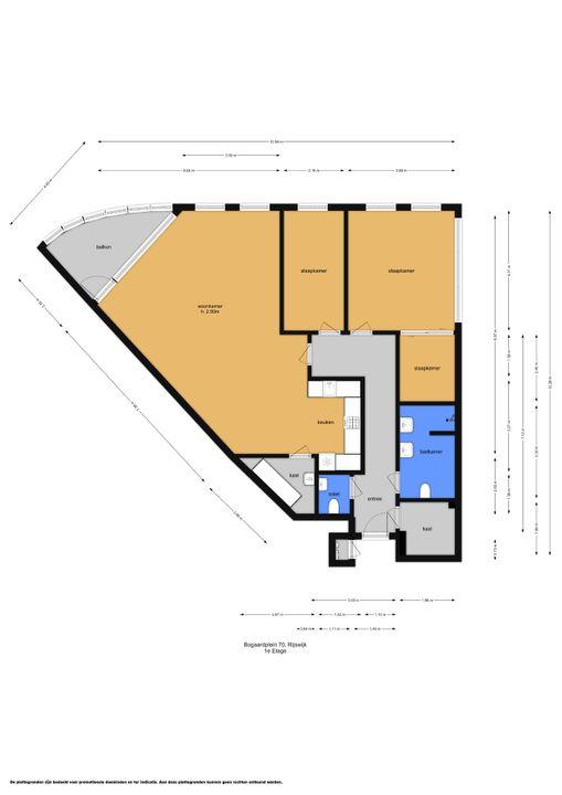 Bogaardplein 70, Rijswijk floorplan-0