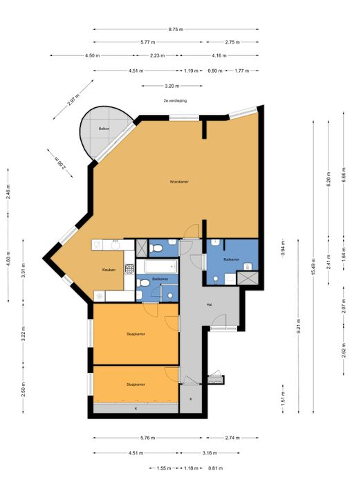 Oude Haven 5, Voorburg floorplan-0