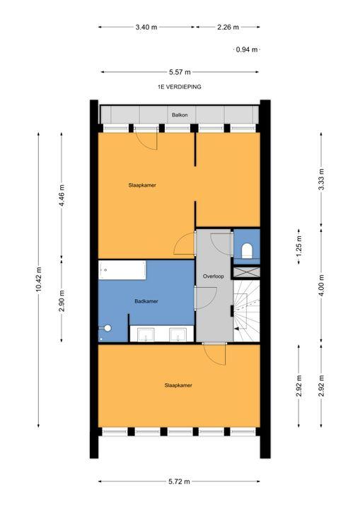 H. Marsmanplantsoen 13, Den Haag floorplan-1