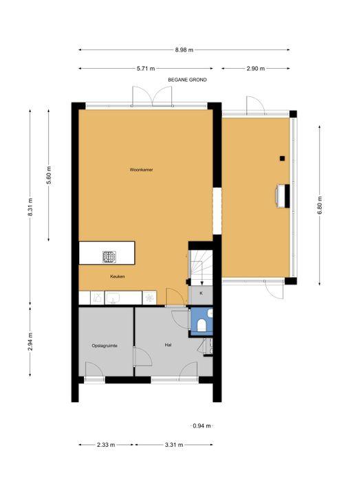 H. Marsmanplantsoen 13, Den Haag floorplan-0