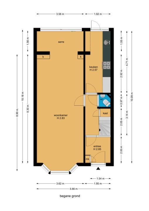 Woelwijkstraat 6, Voorburg floorplan-0