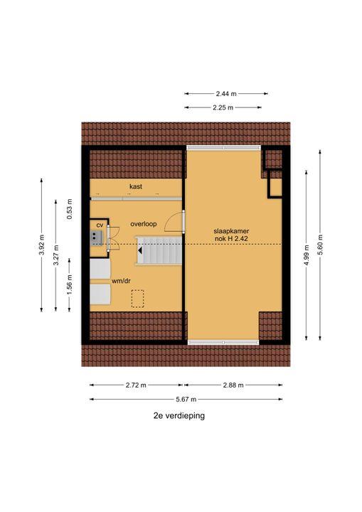 Woelwijkstraat 6, Voorburg floorplan-2