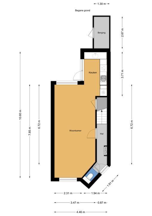 Mauritsstraat 24, Voorburg floorplan-0