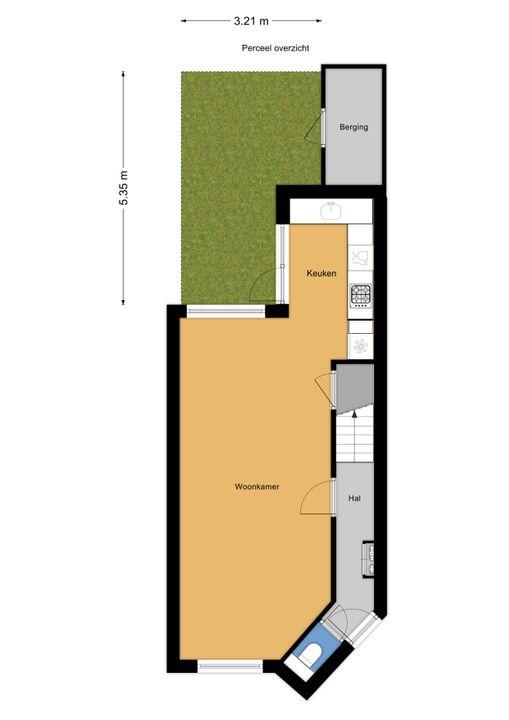 Mauritsstraat 24, Voorburg floorplan-3