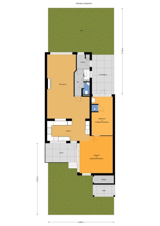 Mauvelaan 11 ., Leidschendam floorplan-4