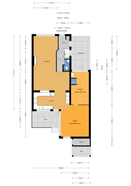 Mauvelaan 11 ., Leidschendam floorplan-0