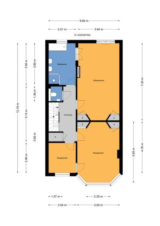 Prinses Mariannelaan 29, Voorburg floorplan-1