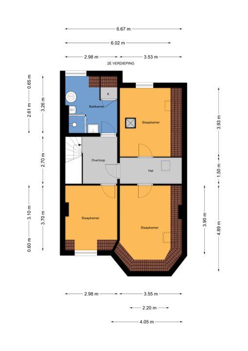 Prinses Mariannelaan 29, Voorburg floorplan-2