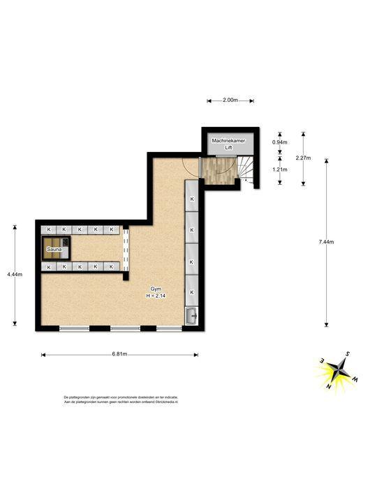 Arentsburghlaan 1 B, Voorburg floorplan-4