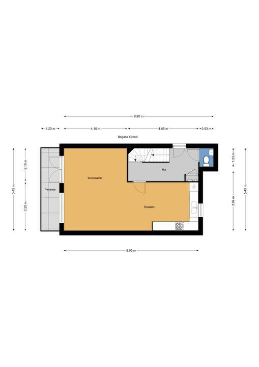 Via Mercadante 1, Voorburg floorplan-2