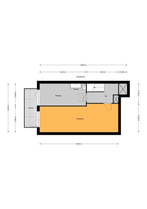 Via Mercadante 1, Voorburg floorplan-1