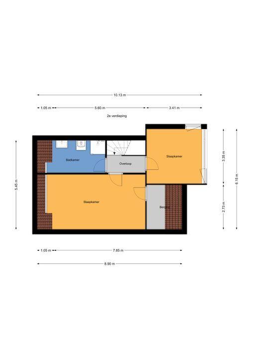 Via Mercadante 1, Voorburg floorplan-4