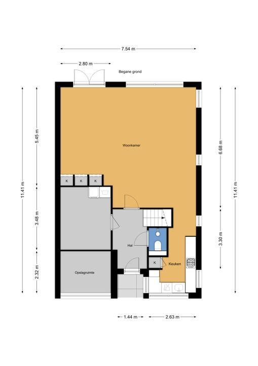 Truus Schroderhof 2, Voorburg floorplan-0
