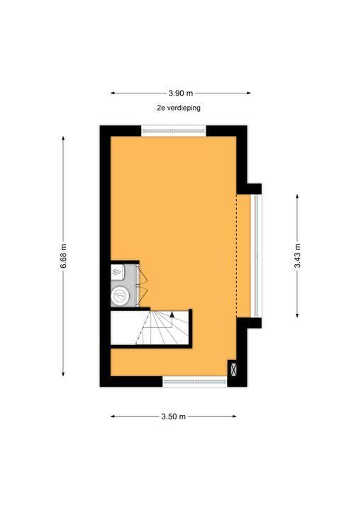 Truus Schroderhof 2, Voorburg floorplan-2