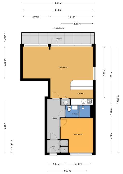 Catharina van Rennesstraat 74, Den Haag floorplan-0