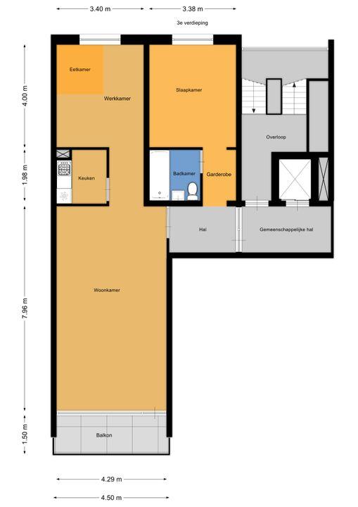 Dr H. Colijnlaan 6 F196, Rijswijk floorplan-0
