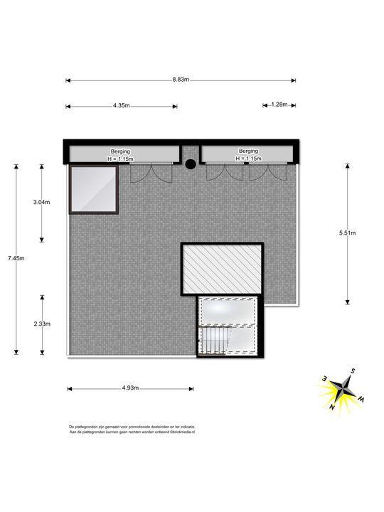 Arentsburghlaan 1 B, Voorburg floorplan-3