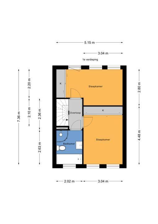 Zandberglaan 23, Den Haag floorplan-1