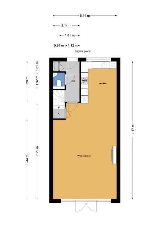 Zandberglaan 23, Den Haag floorplan-0