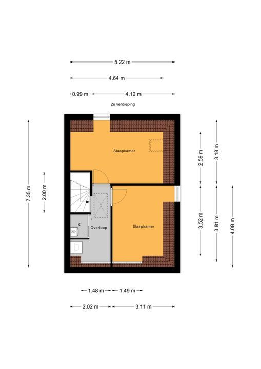 Zandberglaan 23, Den Haag floorplan-2