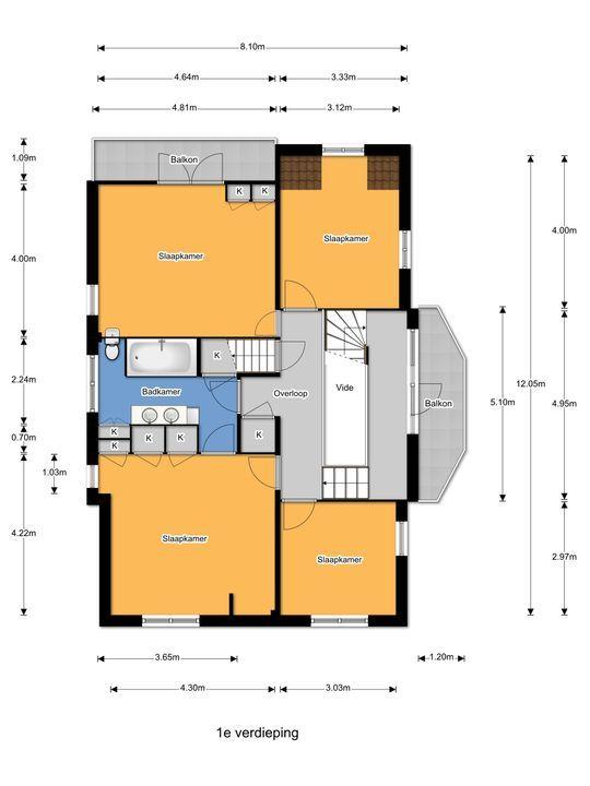 Park Vronesteyn 23, Voorburg floorplan-1