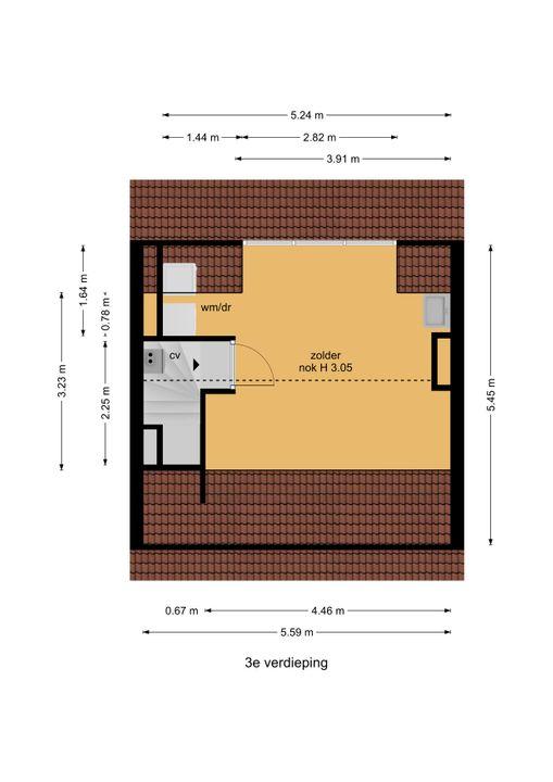 Laan van Nieuw Oosteinde 195, Voorburg floorplan-3