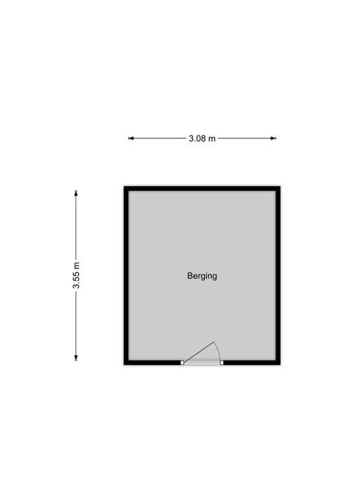 Spinozalaan 1 U II., Voorburg floorplan-1