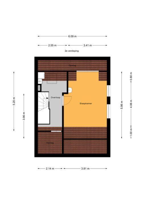 Kwikstaartlaan 2, Leidschendam floorplan-2