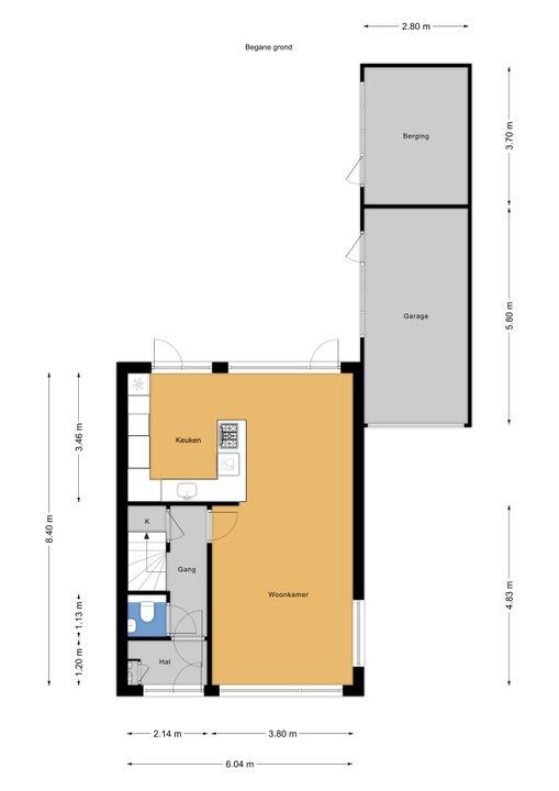 Kwikstaartlaan 2, Leidschendam floorplan-0