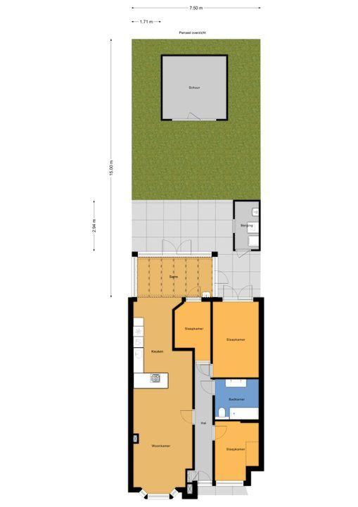 van Gaesbekestraat 13, Voorburg floorplan-3
